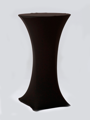 Black Stocking Bar Table