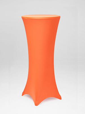Orange Stocking Bar Table