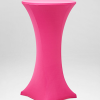 Pink Stocking for Bar Table