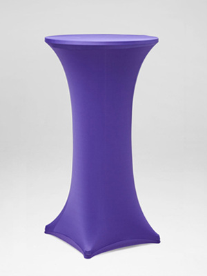 Purple Stocking Bar Table