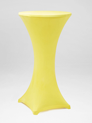 Yellow Stocking Bar Table