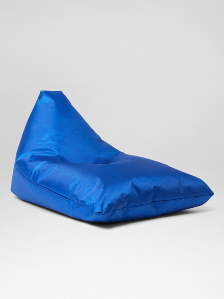 Blue bali lounger bean bag for hire