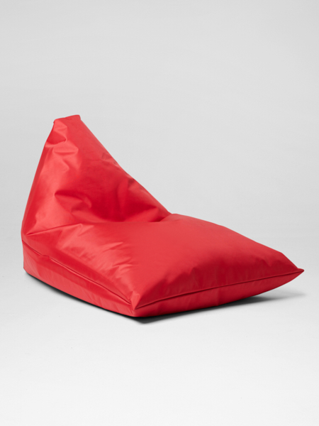 Red bali lounger bean bag for hire