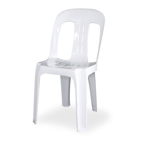 Plastic Chair - White