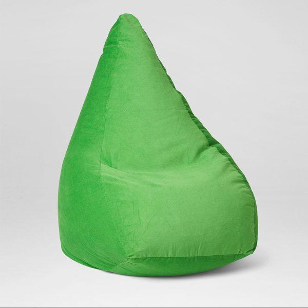 Cotton Cord Lime Bean Bag