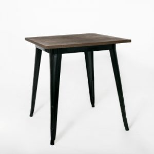 Black tolix cafe table for hire