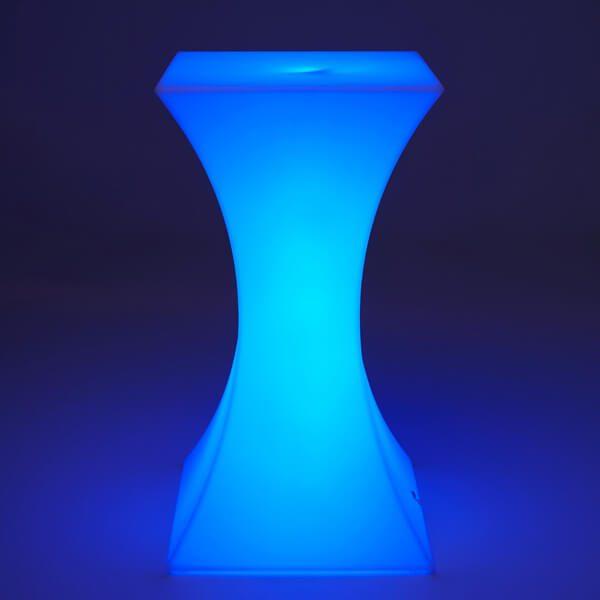 LED Bar Table Dark Blue