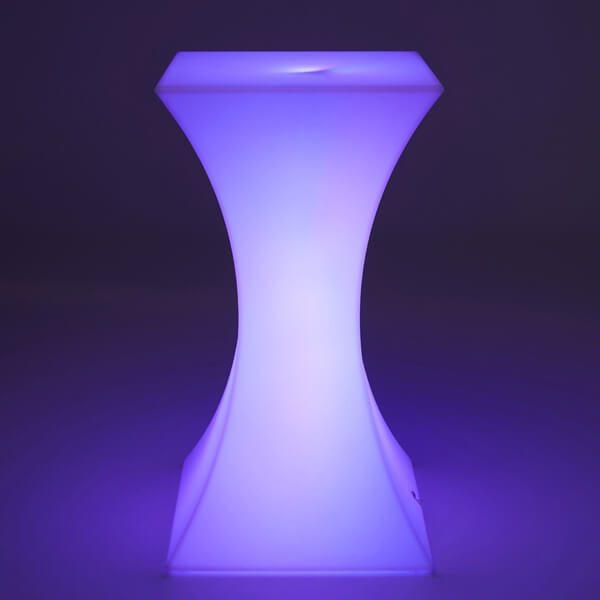 LED Bar Table Purple