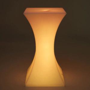 LED Bar Table Yellow